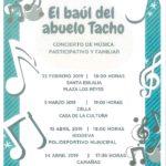 """CONCIERTO DE MUSICA """"EL BAÚL DEL ABUELO TACHO"""""""