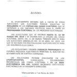 EXCLUSION DE LA PROPAGANDA ELECTORAL EN PAPEL