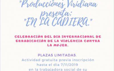 CELEBRACION DEL DIA INTERNACIONAL DE ERRADICACION DE LA VIOLENCIA CONTRA LA MUJER