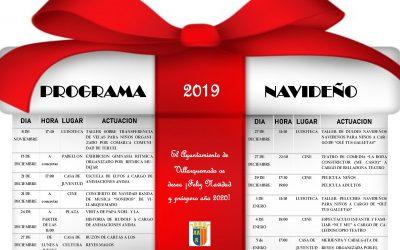 PROGRAMA NAVIDEÑO 2019 – VILLARQUEMADO